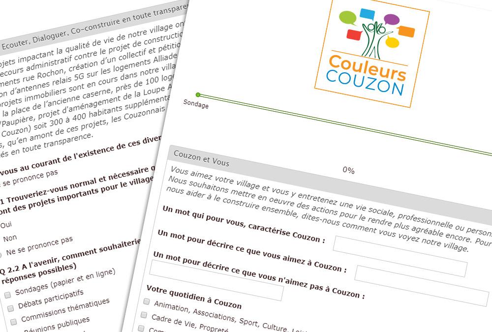 Questionnaire Couleurs Couzon
