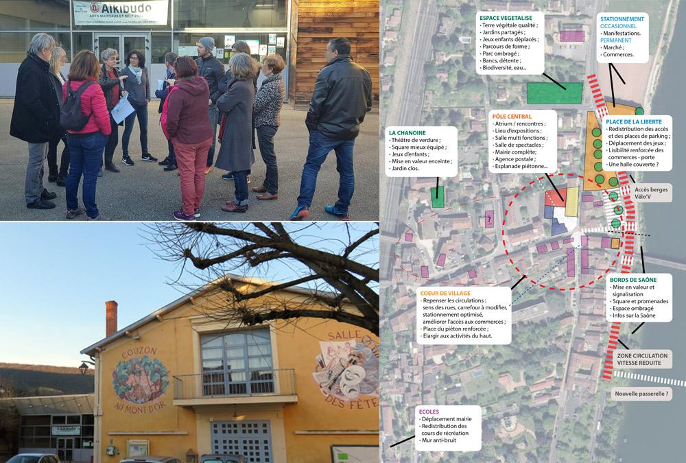 Revitaliser le centre du village : un enjeu prioritaire !