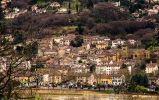 Le village de Couzon au Mont d'Or